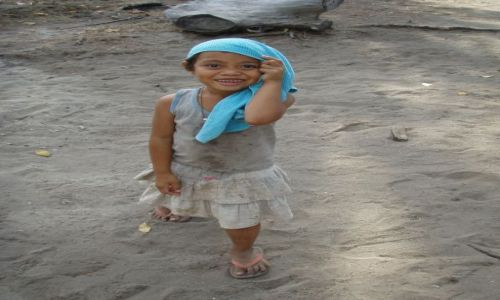 Zdjecie INDONEZJA / brak / Gili Air / Dziewczynka z Gili Air
