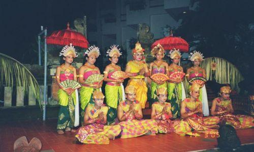 Zdjecie INDONEZJA / Bali / Nusa Dua / balijski zespol