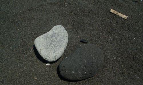 Zdjecie INDONEZJA / Bali / Kusamba-Candidasa / ... w czarno-białej tonacji ....