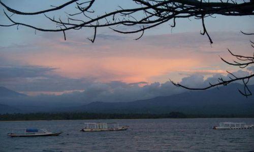 Zdjęcie INDONEZJA / - / Gili Air / widok na Limbok