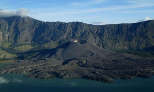 Zdjęcie INDONEZJA / Lombok / Rinjani / ... drugi rzut oka ...