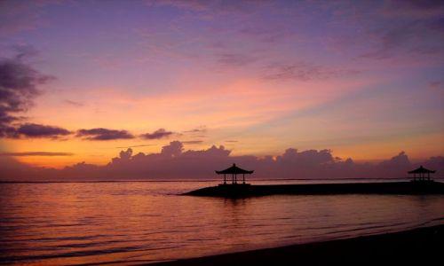 Zdjecie INDONEZJA / Bali / Bali / zachód słońca
