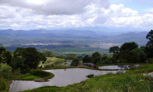 INDONEZJA / Sulawesi Południowe / kraina Tana Toradja / widok na Rantepao