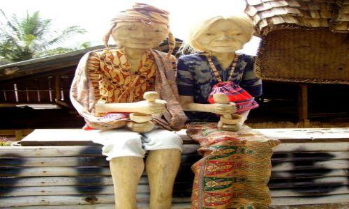 INDONEZJA / Sulawesi Południowe / Lemo - kraina Toradjów / czekają na odpowiedni moment