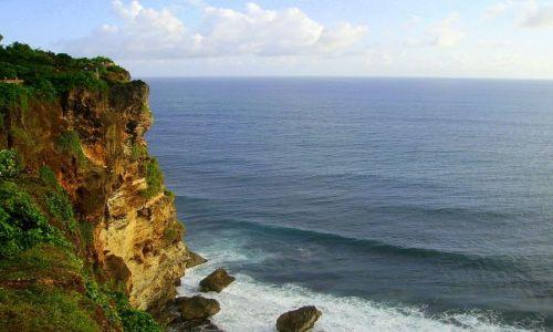Zdjecie INDONEZJA / Bali / Bali / klif w drodze do Ulu Watu