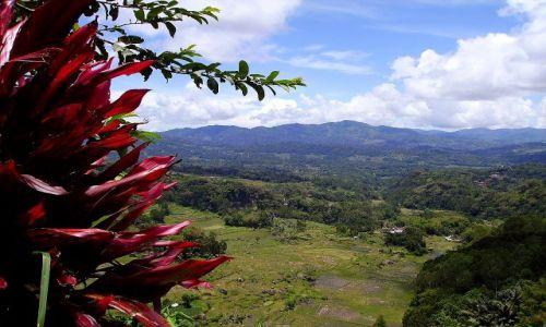 INDONEZJA / Sulawesi Południowe / okolice wioski Lempo / panorama z okolic Lempo