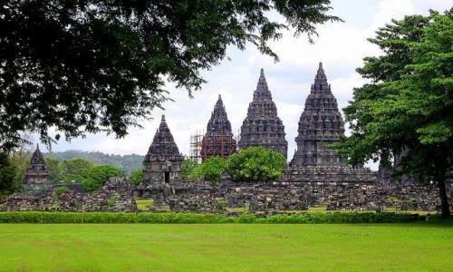 Zdjecie INDONEZJA / Jawa / świątynia Prambanan / światynia Prambanan