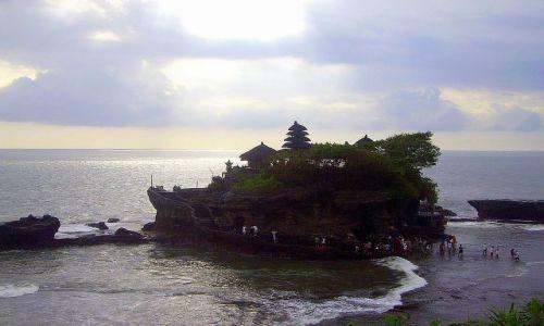 Zdjecie INDONEZJA / Bali / Bali - Tanah Lot / Tanah Lot - świątynia na morzu