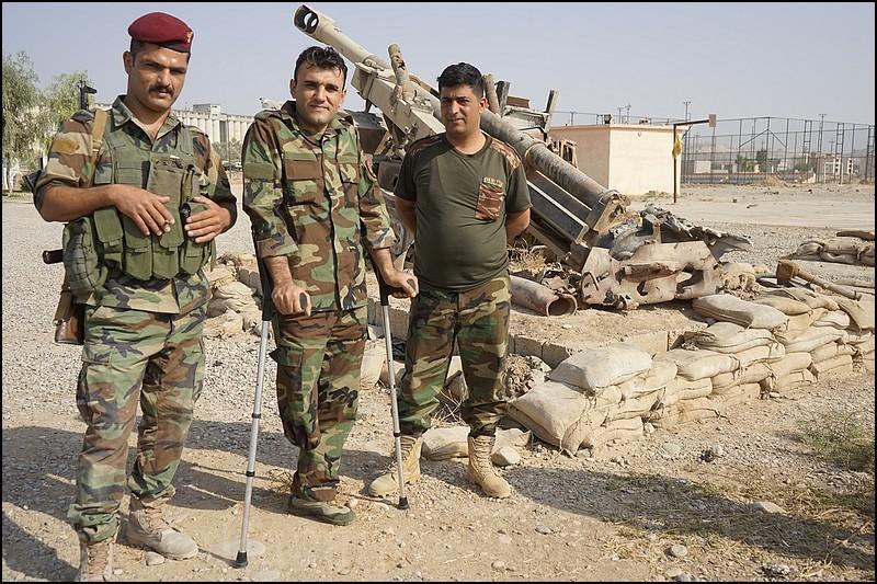 Zdjęcia: Makhmur, Erbil, Na wojnie u Peszmergów, IRAK