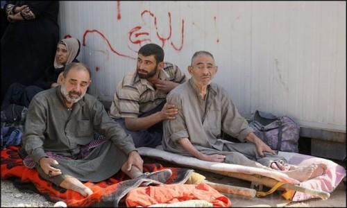 IRAK / Erbil / Makhmur / Uchodźcy z Mosulu 2