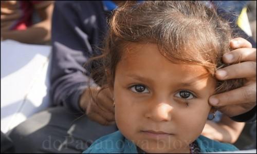 IRAK / Erbil / Makhmur / Uchodźcy z Mosulu 5