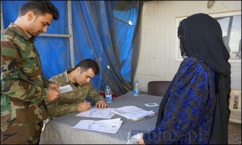 IRAK / Erbil / Makhmur / Uchodźcy z Mosulu 6