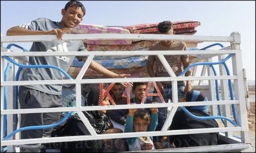 IRAK / Erbil / Makhmur / Uchodźcy z Mosulu 7