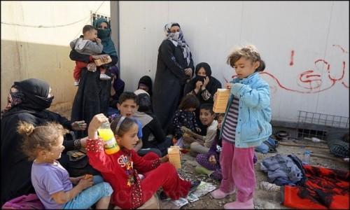 Zdjecie IRAK / Erbil / Makhmur / Uchodźcy z Mosulu 9