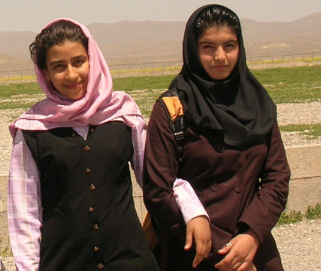 Zdjęcia: Pasargade, Irańczycy, IRAN