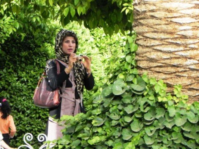 Zdjęcia: Park, Shiraz, Kobieta, IRAN