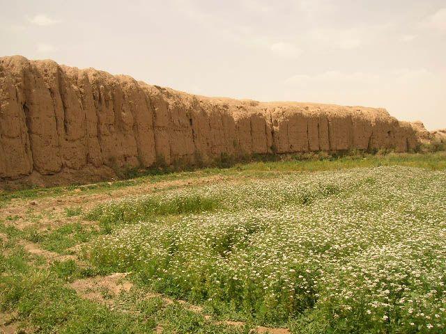 Zdjęcia: Kashan pozostałości murów obronnych, irańskie krajobrazy (32), IRAN