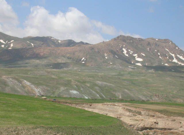 Zdjęcia: trasa Zanjan Takht-e Soleiman, irańskie krajobrazy (47), IRAN