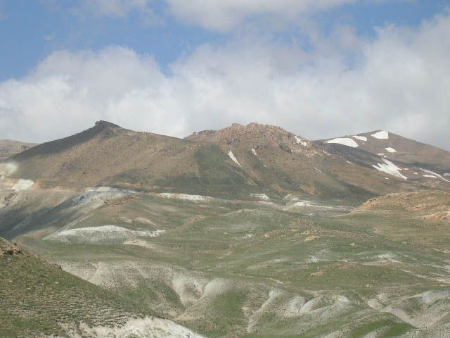 Zdjęcia: trasa Zanjan Takht-e Soleiman, irańskie krajobrazy (48), IRAN