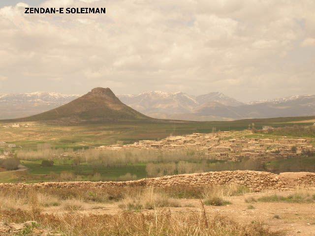 Zdj�cia: Zendan-e Soleiman, ira�skie krajobrazy (54), IRAN