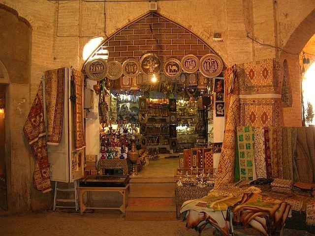Zdjęcia: Shiraz, bazar, IRAN
