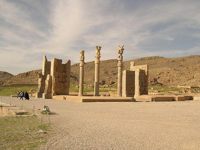 Zdjęcia: Persepolis, Brama Narodów, IRAN