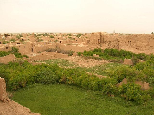 Zdjęcia: Meybod okolice Yazdu, panorama, IRAN