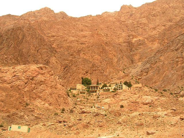 Zdjęcia: Chak Chak okolice Yazdu, panorama, IRAN