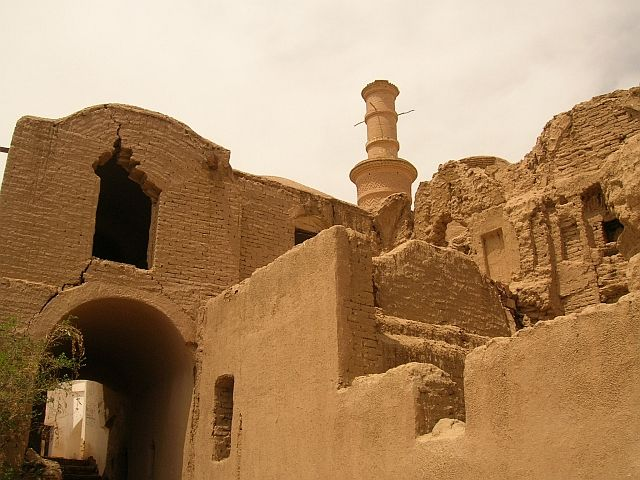 Zdjęcia: Kharanaq okolice Yazdu, meczet, IRAN