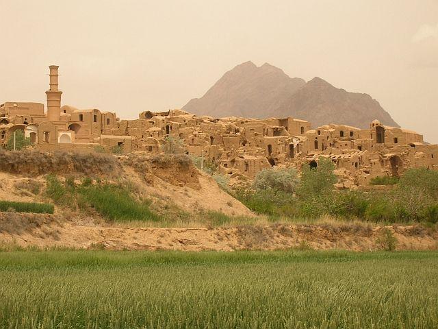 Zdjęcia: Kharanaq okolice Yazdu, panorama, IRAN