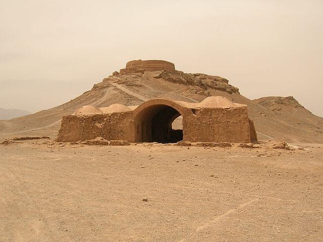 Zdj�cia: Yazd, Wie�a Milczenia, IRAN
