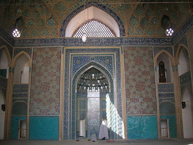 Zdj�cia: Yazd, Meczet Pi�tkowy, IRAN