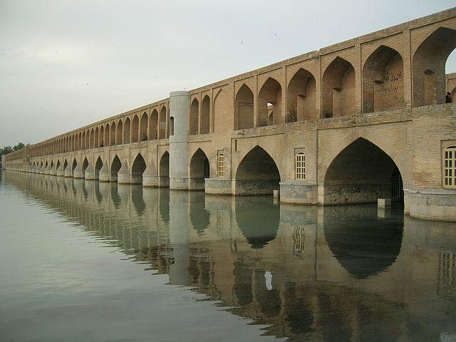 Zdjęcia: Esfahan, Most 33-łuków, IRAN