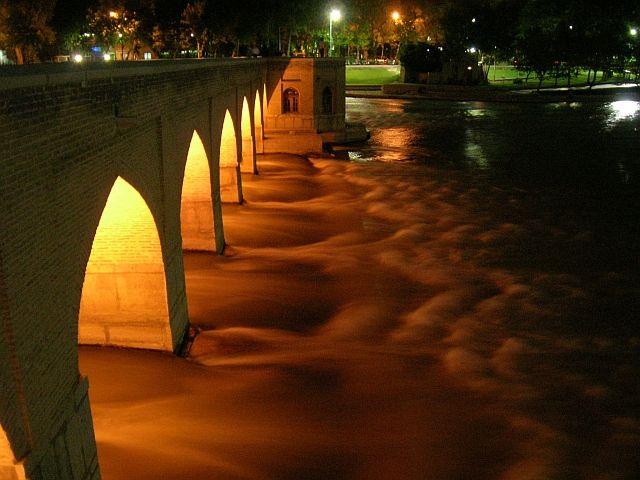 Zdjęcia: Esfahan, Most Chubi, IRAN