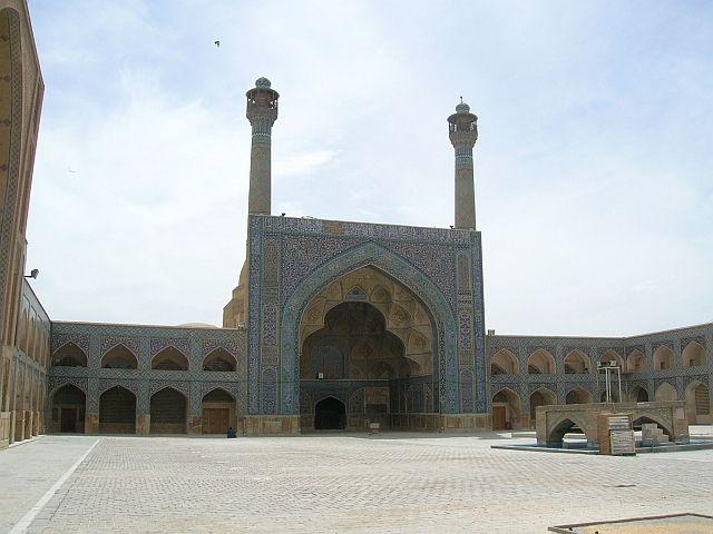 Zdj�cia: Esfahan, Meczet Pi�tkowy, IRAN