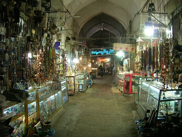 Zdj�cia: Esfahan, Bazar Bozorg, IRAN