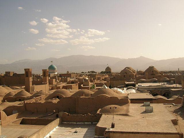 Zdjęcia: Kashan, panorama, IRAN