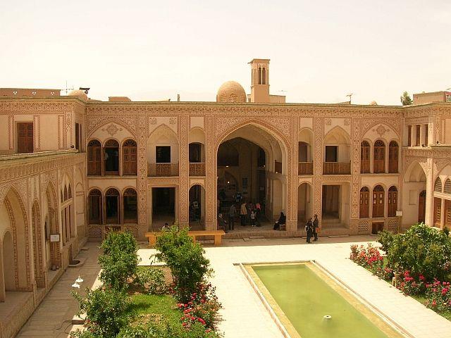 Zdjęcia: Kashan, dom władcy Kashanu z  XIX wieku, IRAN