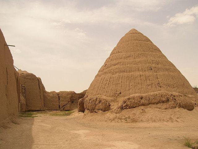 Zdj�cia: Kashan, dom do przechowywania lodu, IRAN