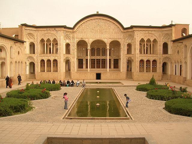 Zdjęcia: Kashan, dom kupca dywanów z XIX wieku, IRAN