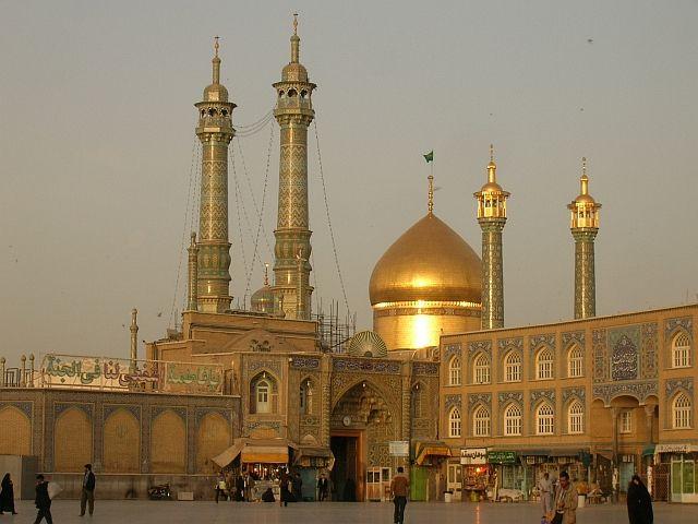 Zdjęcia: Qom, Hazrat-e Masumeh - świety shrine, IRAN