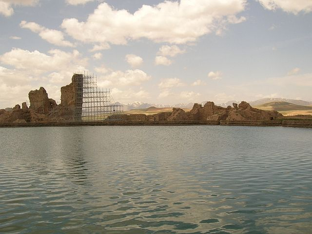 Zdjęcia: okolice Zanjanu, Tron Salomona, IRAN