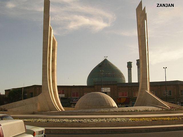 Zdjęcia: Zanjan, centrum miasta, IRAN
