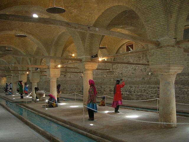 Zdjęcia: Zanjan, muzeum pralni miejskiej, IRAN