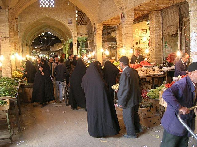 Zdjęcia: Zanjan, bazar, IRAN