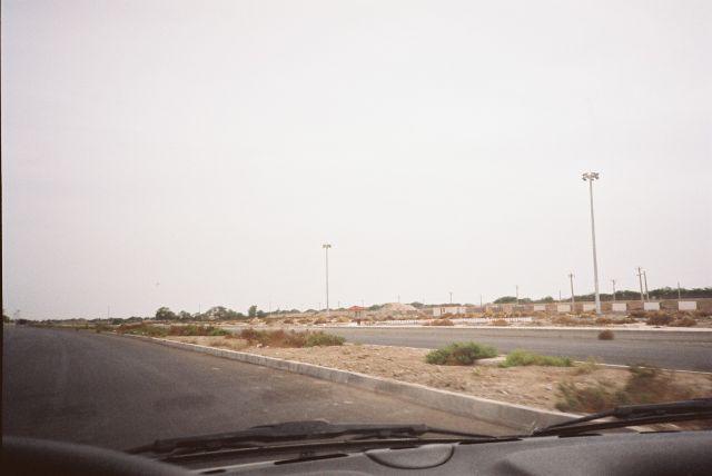 Zdjęcia: Miedzy ABADAN a ARVAND KENAR, Poludniowo-zachodni Iran, Droga wzdluz rzeki Tygrys., IRAN