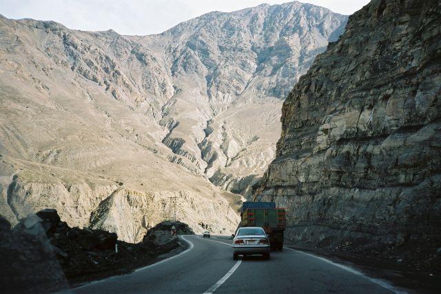 Zdjęcia: Miedzy teheranem a morzem kaspijskim, Gory Iranu, IRAN