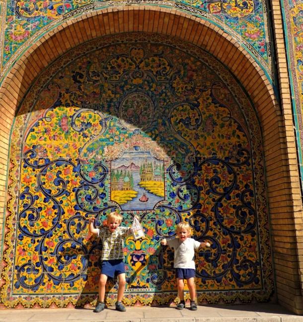 Zdjęcia: Teheran, Teheran, Pałac Golestan, IRAN