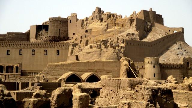 Zdjęcia: Gliniane Miasto, Bam, Z gliny powstałeś...., IRAN
