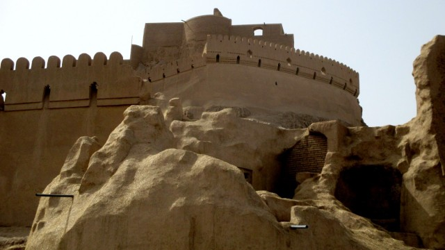 Zdjęcia: Gliniane Miasto, Bam, Z gliny powstałeś....1, IRAN